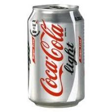 Blikje Coca Cola Light